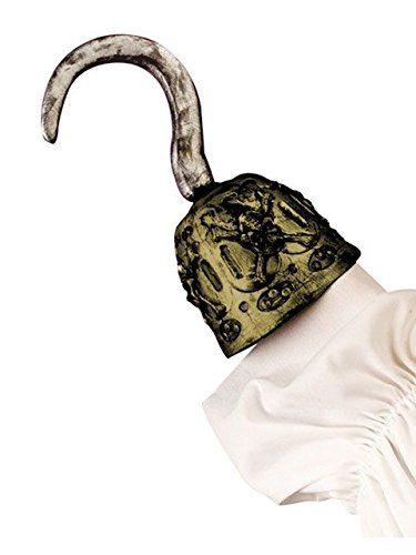 Fun World Pirate Hook Costume Prop Accessory – One Size, Colors May Vary Captain Hook Accessory