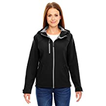 North End Ladies Prospect Fleece Hooded Shell Jacket
