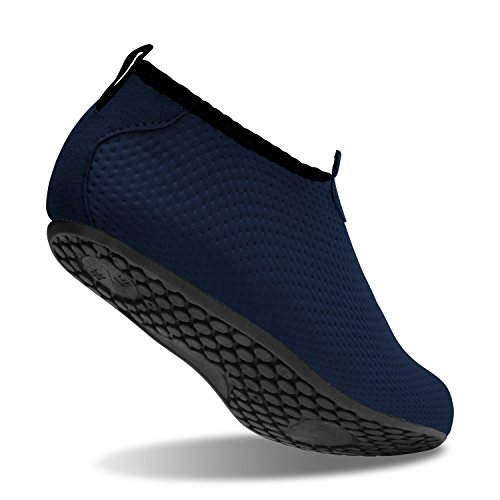 de L para Pure Unisex Zapatos de Surf Swim Run Dive Beach Navy descalza Run Agua Yoga Zapatos Piel gwUYrqgx