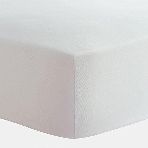 Carousel Designs Solid White Crib Sheet (White Carousel)