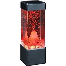 Fascinations Home Decor Volcano Lamp