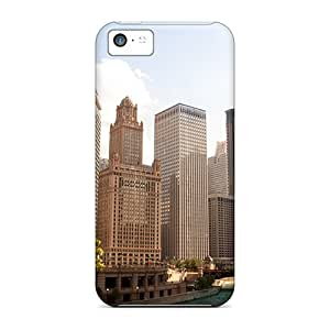 Hot Fashion Qpv7373jjxj Design Cases Covers For Iphone 5c Protective Cases (usa Illinois)