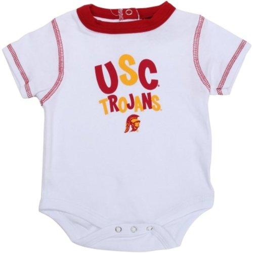 UPC 829943090554, USC Trojans White Infant Onesie 0 - 3 Months Team Colors
