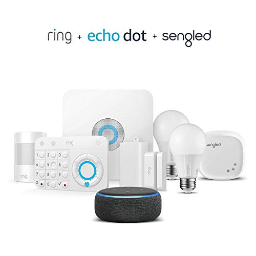 Kit de 5 piezas Ring Alarm + Echo Dot + Kit de inicio Sengled 2 pack