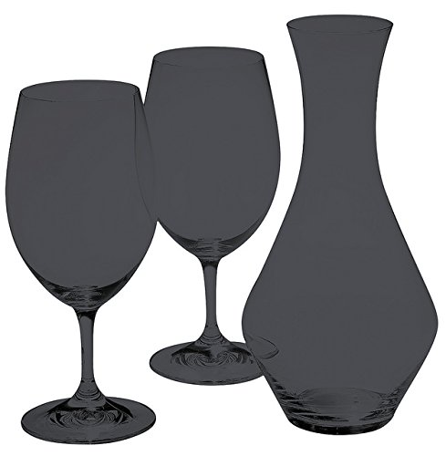 Full Black Color Riedel Ouverture Magnum For Two Wine Set by TableTop King