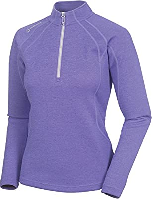 Sunice Ladies Megan Thermal Pullover Lavender XX-Large