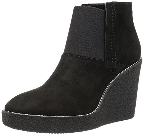 Aquatalia Womens Veera Suede Boot Black