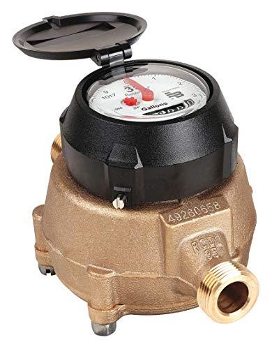 Positive Displacement Flow Meter - Badger Flowmeter 35 gpm 150 psi 9 in.