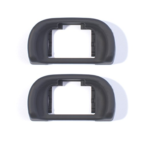 VKO VEP-11II 2pcs Eyecup Eye Cup Eyepiece Viewfinder for Sony A7 A7S A7R A7II A7SII A7RII A58 A57 A65 Digital Camera Replaces Sony FDA-EP11 Eyecup