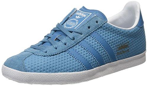 Gazelle Para clear Og Greyblanch blanch Adidas blanch Sea Zapatillas Grey Azul Sea Mujer tdgxqT