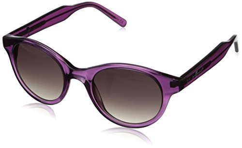 7 For All Mankind Women's 7900 Round Sunglasses, Purple Crystal, 48 - Glasses All For Mankind Seven