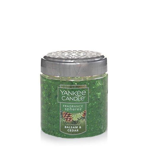 (Yankee Candle Balsam & Cedar Fragrance Spheres, Festive Scent)