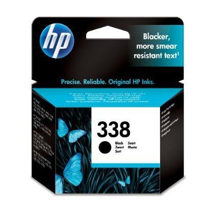 4 X HP 338 - Black Inkjet Print Cartridge (C8765EE)