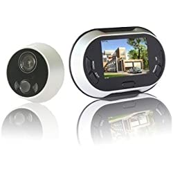 RioRand® 3.5 inch 170 degrees Wide Angle Peephole TFT LCD Digital Door Viewer Doorbell Security Camera Cam