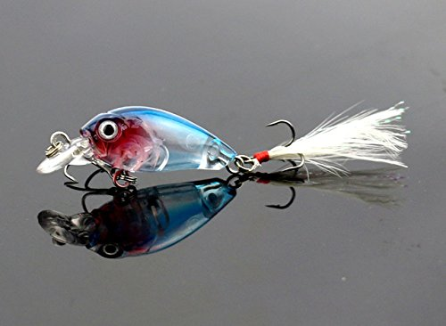 5 pcs 3.6cm 4g Fishing Lures Crank Baits - 2