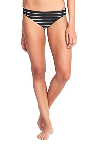 (Old Navy Swim Bikini Bottoms for Women Included! (Stripes, Medium))