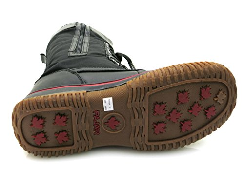 Pajar - Botas de Piel para mujer Negro - negro