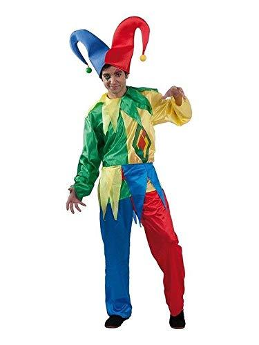 DISBACANAL Disfraz bufón Carnaval - Único, XL: Amazon.es ...