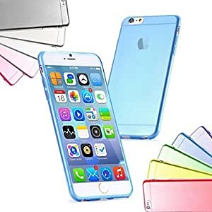 Zaki Ultra Thin Slim TPU Soft Case for iPhone 6 (Assorted Colors) , Blue