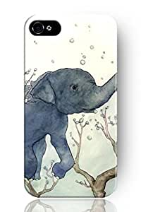 SPRAWL New Fashion Design Hard Skin Case Cover Shell for Mobilephone Apple Iphone 5 5S--lovely painting of elephant