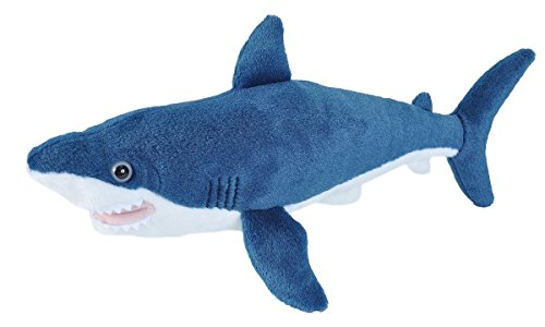 Wild Republic Mako Shark Plush, Stuffed Animal, Plush Toy, Gifts for Kids, Cuddlekins 13 ()