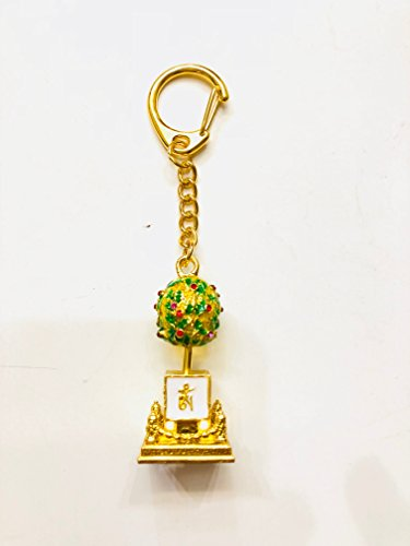 My Lucky 2018 Feng Shui Bejeweled Wealth Granting Tree Amulet Keychain by My Lucky