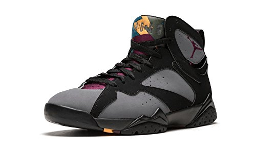 Nike Mens Air Jordan 7 Retro Bordeaux Black/Bordeaux-Light Graphite Suede Size 11 (Jordan Retro 7 Year Of The Rabbit)