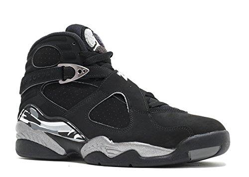 [305381-003] AIR Jordan AJ Retro 8 Mens Sneakers AIR JORDANBLACK/White LT ()