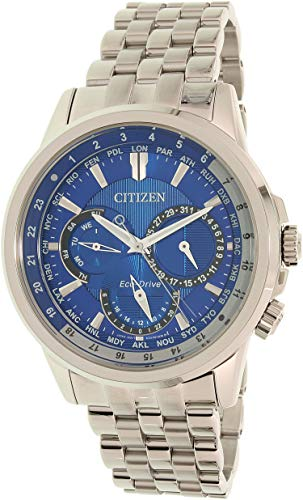 Men's Citizen Eco-Drive Calendrier World Time Watch BU2021-69L