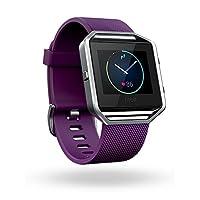 Fitbit Blaze Smart Fitness Watch (Plum/Silver)