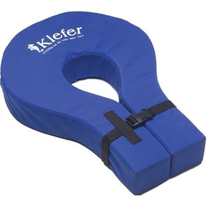 Kiefer Adjustable Adult Foam Swim Collar, 23 x 15-Inch, Blue