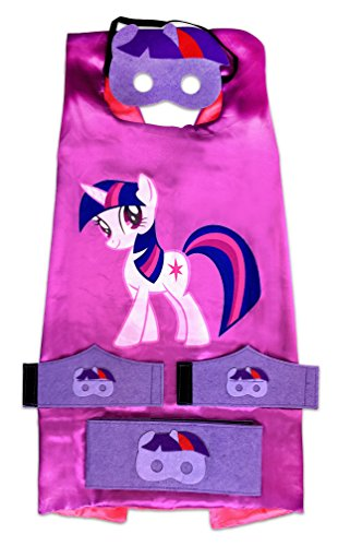 [Children's Superhero Costume - My Little Pony - Twilight Sparkle] (Super Sparkle Costume)