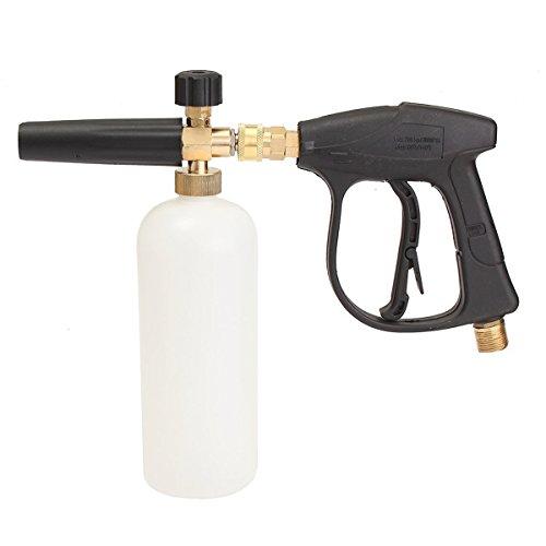 Price comparison product image MATCC Foam Wash Gun 3000 PSI High Pressure Washer W/1L Snow Foam Lance Bottle Car Cleaning