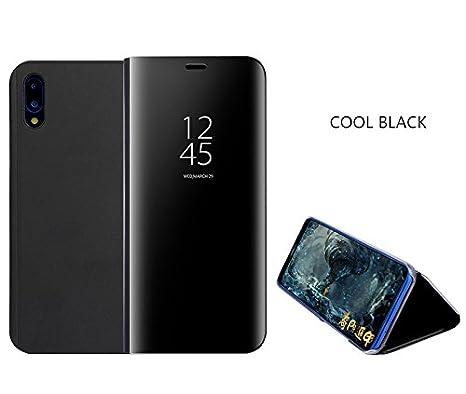 prezzo più basso 13839 b8d40 Cover Huawei P20 Lite,Custodia Case Smart Mirror Custodia in Funzione Smart  Sleep/Wake,Custodia per Cellulare Anti-Drop all-Inclusive Cover per Huawei  ...