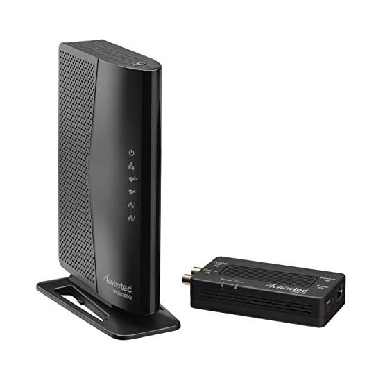Actiontec 802.11ac Desktop WiFi Extender with 4 Internet Antennas 5GHz, Gigabit Ethernet, Bonded MoCA for Whole Home… 41OTPSRnHKL. SS555