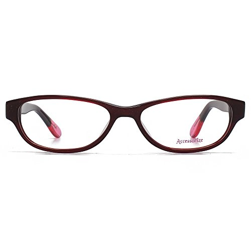 Accessorize Cateye verres en rouge ACS003-RED clear