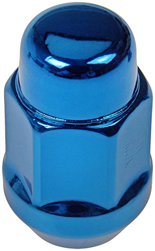 Dorman 711-235D Pack of 16 Blue Wheel Nuts and 4 Lock Nuts with Key ()