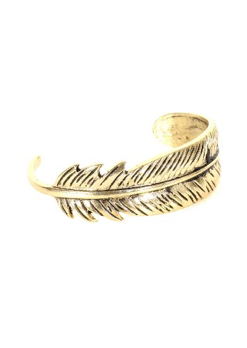 Magic Metal Feather Bangle...
