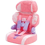 Doll Car Seat and Booster with Seatbelt for Dolls and...