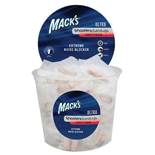 Mack's Shooters Ultra Foam (100-Pair) Tub Earplugs ()