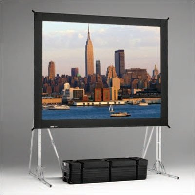 Dual Vision Heavy Duty Deluxe Fast Fold Replacement Front and Rear Projection Screen - 7'6