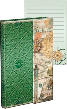 Punch Studio Everyday Magnetic Flap Mini Journals-Italian Travels (Magnetic Flap Journal)