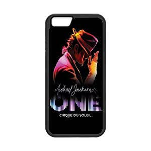 Michael Jackson Inspiration Design Solid Rubber Customized Cover Case for iPhone 6 4.7