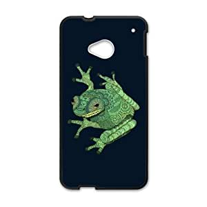 Tree Frog HTC One M7 Cell Phone Case Black Ohzzi