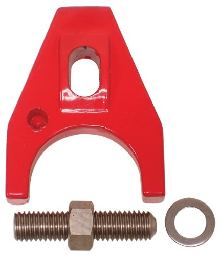 Compatible/Replacement for CHEVY/GM BILLET ALUMINUM DISTRIBUTOR HOLD DOWN CLAMP - RED