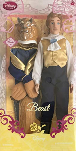Disney Store Beast Doll Poseable 12