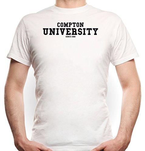 Compton University T-Shirt White Certified Freak