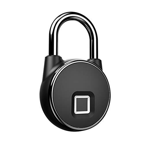 Hotaluyt Anti Theft Waterproof Keyless Smart Bluetooth Lock Biometric Fingerprint Padlock Door Lock Home Gym Office Backpack