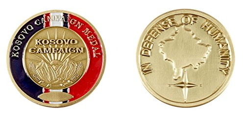 Kosovo Campaign Service Medal Military Challenge Coin (Challenge Coin Medal)