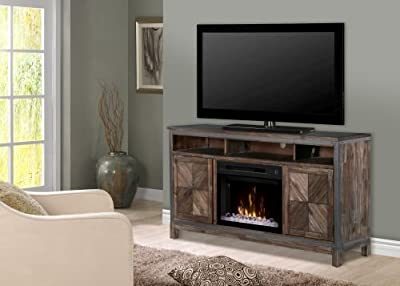 "Dimplex Wyatt 25"" Fireplace TV Stand in Barley Brown"